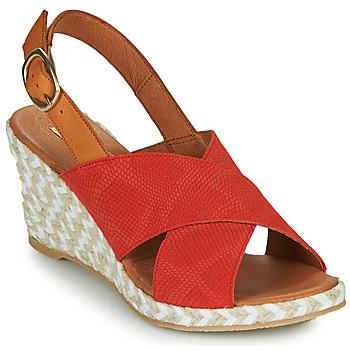 Topánky Ženy Sandále Pare Gabia NAMEE Oranžová