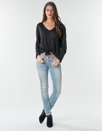 Oblečenie Ženy Rifle Skinny  G-Star Raw Lynn Mid Skinny Wmn Lt / Aged