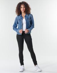 Oblečenie Ženy Rifle Skinny  G-Star Raw Midge Zip Mid Skinny Wmn Čierna