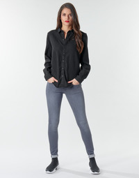 Oblečenie Ženy Rifle Skinny  G-Star Raw Lynn d-Mid Super Skinny Wmn Medium / Aged