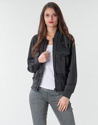 Oblečenie Ženy Saká a blejzre G-Star Raw Rovic aviator bomber wmn Dk / Čierna / Dk / Čierna