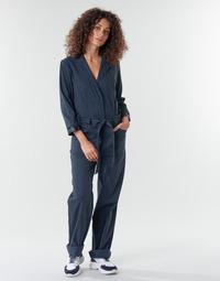 Oblečenie Ženy Módne overaly G-Star Raw Workwear pj jumpsuit 34 slv wmn Tmavomodrá / Modrá
