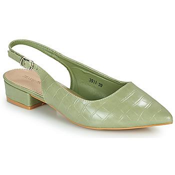 Topánky Ženy Lodičky Moony Mood OGORGEOUS Zelená / Mandľová