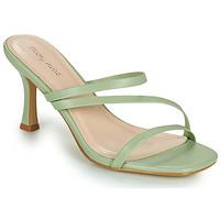 Topánky Ženy Šľapky Moony Mood OBIUTI Zelená / Mandľová