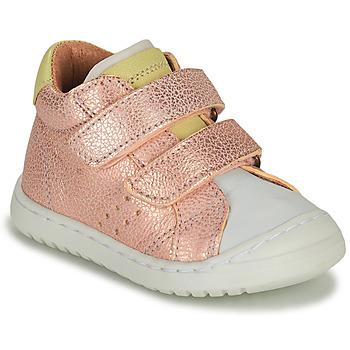 Topánky Dievčatá Nízke tenisky Bisgaard TATE Ružová / Zlatá