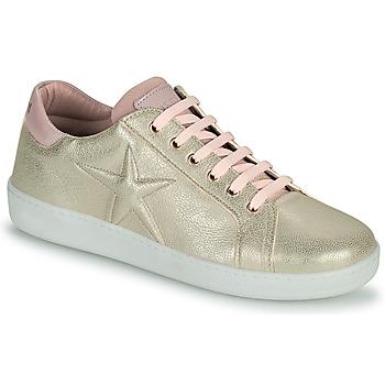 Topánky Dievčatá Nízke tenisky Bisgaard TILDE Zlatá