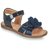 Topánky Dievčatá Sandále Bisgaard AGNES Námornícka modrá