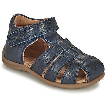 Topánky Deti Sandále Bisgaard CARLY Námornícka modrá