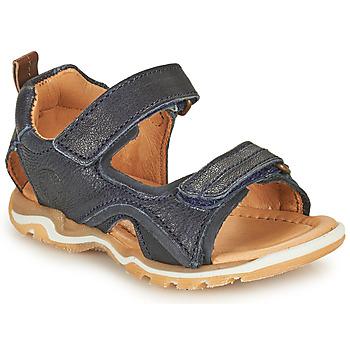 Topánky Chlapci Športové sandále Bisgaard CASPAR Námornícka modrá
