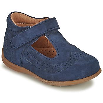 Topánky Dievčatá Balerínky a babies Bisgaard RAE Námornícka modrá