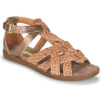 Topánky Dievčatá Sandále Bisgaard CELINE Zlatá