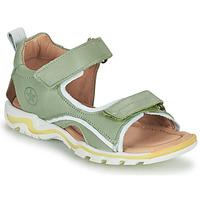 Topánky Deti Športové sandále Bisgaard ARTHUR Zelená