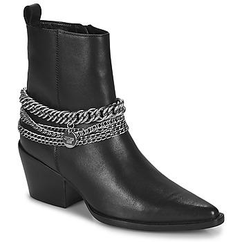 Topánky Ženy Čižmy do mesta Bronx JUKESON Čierna