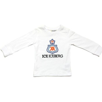 Oblečenie Chlapci Tričká s dlhým rukávom Iceberg TSICE0316B Bianco