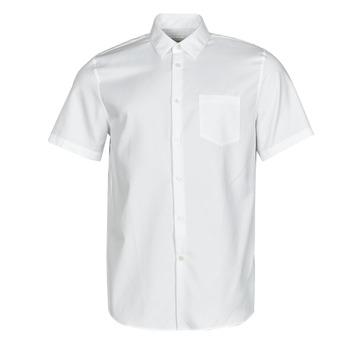 Oblečenie Muži Košele s krátkym rukávom Lacoste FOLLA Biela