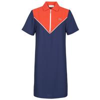 Oblečenie Ženy Krátke šaty Lacoste FRITTI Červená / Modrá