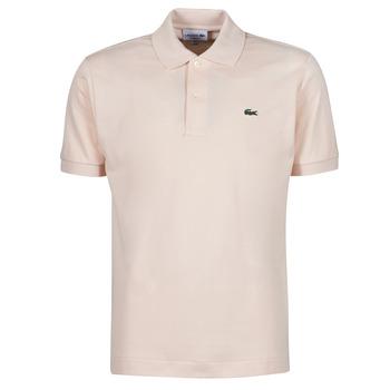 Oblečenie Muži Polokošele s krátkym rukávom Lacoste POLO CLASSIQUE L.12.12 Ružová