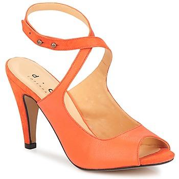 Topánky Ženy Sandále D.Co Copenhagen MARISSA Oranžová