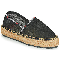 Topánky Ženy Espadrilky Love Moschino JA10373G1C Čierna