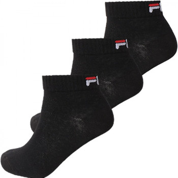 Doplnky Ponožky Fila Quarter unisex  3 pairs per pack Čierna