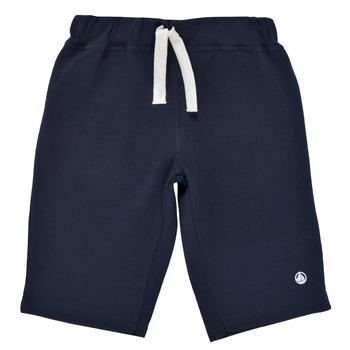 Oblečenie Chlapci Šortky a bermudy Petit Bateau LAVIEN Námornícka modrá