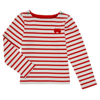 Oblečenie Dievčatá Tričká s dlhým rukávom Petit Bateau MAHALIA Viacfarebná