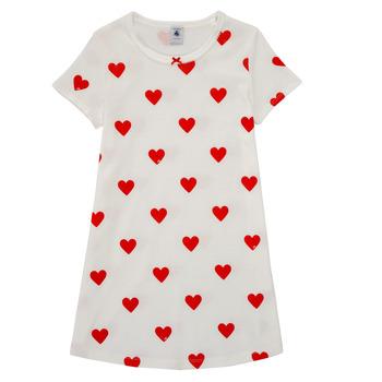 Oblečenie Dievčatá Pyžamá a nočné košele Petit Bateau MARAMA Viacfarebná