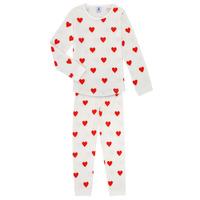 Oblečenie Dievčatá Pyžamá a nočné košele Petit Bateau MISON Viacfarebná