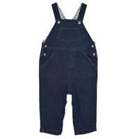 Oblečenie Chlapci Módne overaly Petit Bateau MILIBERT Modrá