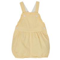 Oblečenie Dievčatá Módne overaly Petit Bateau MERINE Žltá