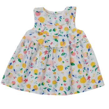 Oblečenie Dievčatá Krátke šaty Petit Bateau MELIANA Viacfarebná