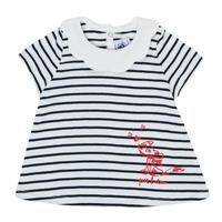 Oblečenie Dievčatá Tričká s krátkym rukávom Petit Bateau MELIANE Viacfarebná