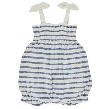 Oblečenie Dievčatá Módne overaly Petit Bateau MILLY Viacfarebná