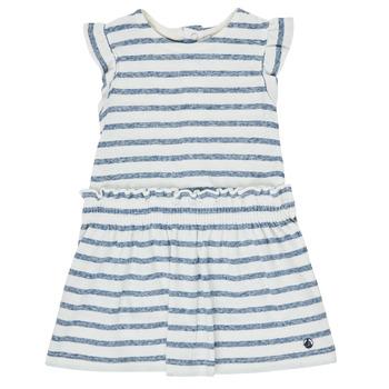 Oblečenie Dievčatá Krátke šaty Petit Bateau MILANAIS Viacfarebná