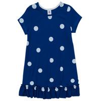 Oblečenie Dievčatá Krátke šaty Petit Bateau MALICETTE Námornícka modrá