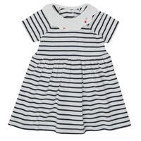 Oblečenie Dievčatá Krátke šaty Petit Bateau MEGHANE Viacfarebná