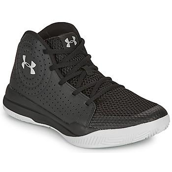 Topánky Deti Basketbalová obuv Under Armour GS JET 2019 Čierna