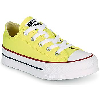 Topánky Dievčatá Nízke tenisky Converse CHUCK TAYLOR ALL STAR LIFT CANVAS COLOR OX Žltá