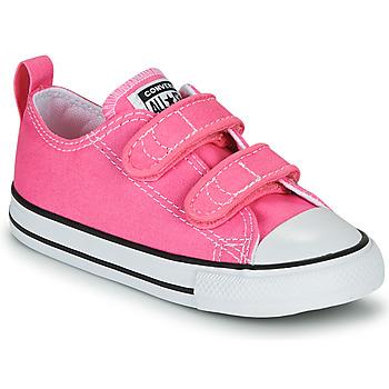 Topánky Dievčatá Nízke tenisky Converse CHUCK TAYLOR ALL STAR 2V  OX Ružová