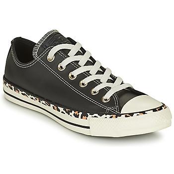 Topánky Ženy Nízke tenisky Converse CHUCK TAYLOR ALL STAR ARCHIVE DETAILS OX Čierna / Leopard
