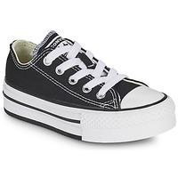 Topánky Dievčatá Nízke tenisky Converse CHUCK TAYLOR ALL STAR EVA PLATFORM FOUNDATION OX Čierna