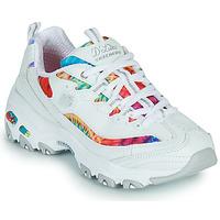 Topánky Ženy Nízke tenisky Skechers D'LITES SUMMER FIESTA Biela / Viacfarebná