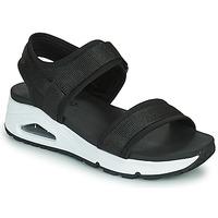Topánky Ženy Sandále Skechers UNO Čierna