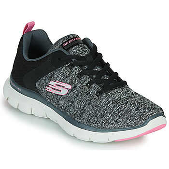 Topánky Ženy Fitness Skechers FLEX APPEAL 4.0 Šedá / Ružová