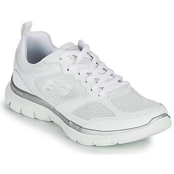 Topánky Ženy Fitness Skechers FLEX APPEAL 4.0 Biela