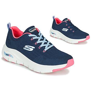 Topánky Ženy Nízke tenisky Skechers ARCH FIT Námornícka modrá / Ružová
