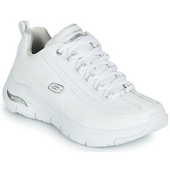 Topánky Ženy Nízke tenisky Skechers ARCH FIT Biela