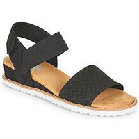 Topánky Ženy Sandále Skechers DESERT KISS Čierna