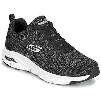 Topánky Muži Nízke tenisky Skechers ARCH FIT Čierna