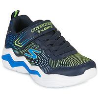 Topánky Chlapci Nízke tenisky Skechers ERUPTERS IV Námornícka modrá / Zelená